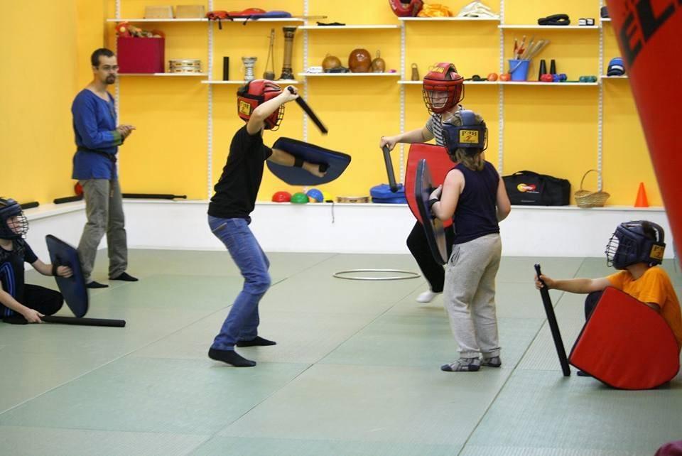 Современный мечевой бой