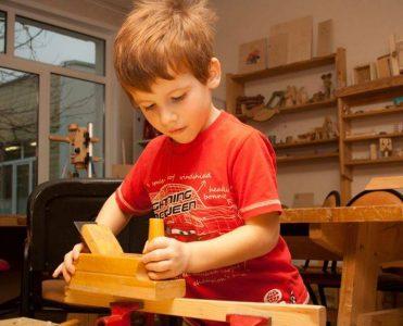Столярная мастерская для детей